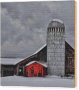 Classic Vermont Barn Wood Print