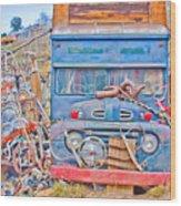 Classic Ward Colorado Boulder County Wood Print