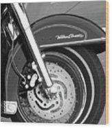Classic Wheel Wood Print