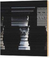 Classical 4 Wood Print