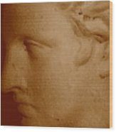 Classical Head Wood Print