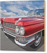 Classy - '64 Cadillac Wood Print