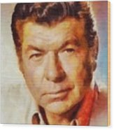 Claude Akins, Vintage Hollywood Actor Wood Print