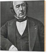 Claude Bernard, French Physiologist Wood Print by Photo Researchers