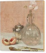Claude Wood Print