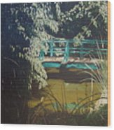 Claude Monet Bridge 2 Wood Print