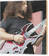 Claudio Sanchez Of Coheed And Cambria 2 Wood Print
