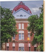 Clay County Courthouse Wood Print