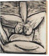 Clay Wood Print