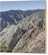 Clear Creek Canyon Wood Print