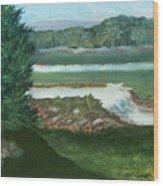 Clear Creek Wood Print
