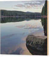 Clear Lake, Oregon Wood Print