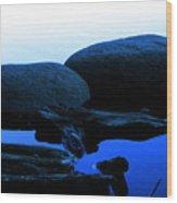 Clear Lake Pt.1 Wood Print