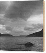 Clearing Storm, Lake Otsego Wood Print