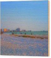Clearwater Beach Florida Wood Print