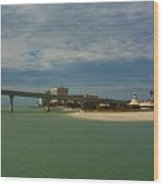Clearwater Beach Wood Print