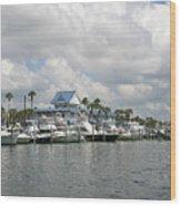 Clearwater Florida Wood Print