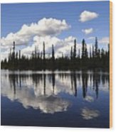 Clearwater Reflections Wood Print