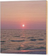 Clearwater Sunset Wood Print