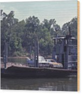 Cleece's River Ferry Nashville Tennessee - 1 Wood Print