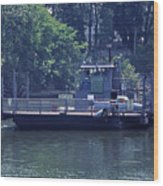 Cleece's River Ferry Nashville Tennessee - 2 Wood Print