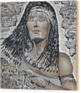 Cleopatra 's Anger Wood Print