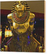 Cleopatra's Barge Wood Print
