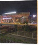 First Energy Stadium Wood Print