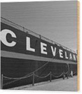 Cleveland Wood Print