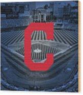 Cleveland Indians Baseball Wood Print