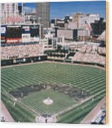 Cleveland: Jacobs Field Wood Print