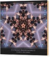 Cleveland Kaleidoscope IIi Wood Print
