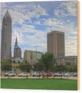 Cleveland Ohio Wood Print