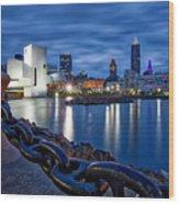 Cleveland Rocks Wood Print