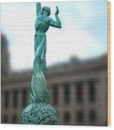 Cleveland War Memorial Fountain Wood Print