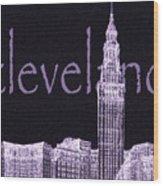 Cleveland's Landmark II Wood Print