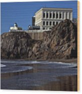 Cliff House San Francisco Wood Print by Garry Gay