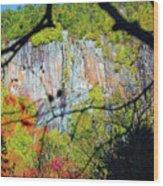 Cliff  Wood Print