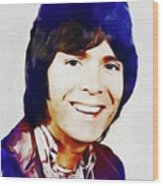 Cliff Richard, Music Legend Wood Print