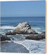 Cliffhouse Rocks Wood Print