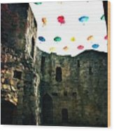 Clifford's Tower Wood Print