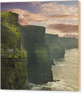 Cliffs Of Moher - 2 Wood Print