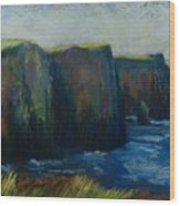 Cliffs Of Moher Wood Print