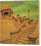 Clifton Monument At Jehangir Kothari Parade Wood Print