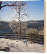 Clinton Tennessee Wood Print