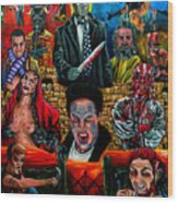 Clive Barker's Nightbreed Wood Print