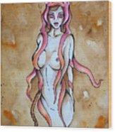 Cloak Wood Print