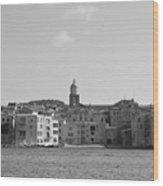 Clocher De Saint - Tropez Vue De La Mer  Wood Print