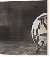 Clock - Id 16218-130649-1306 Wood Print