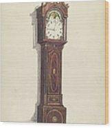 Clock Wood Print
